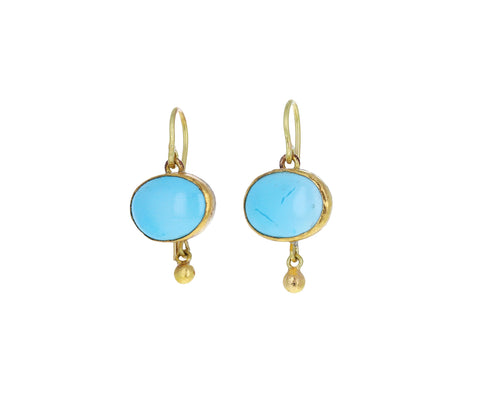 Persian Turquoise Drop Earrings