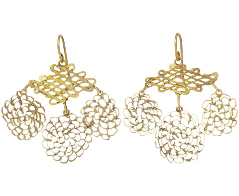 Classic Pattern Girandole Earrings