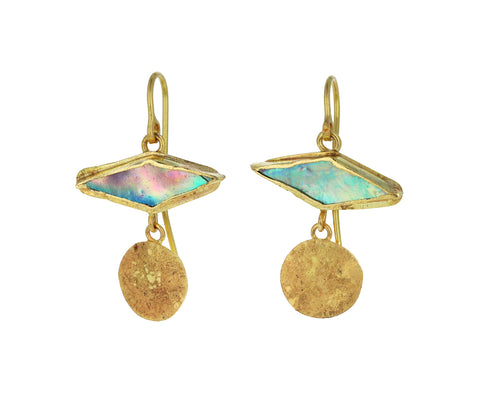 Abalone Squash Earrings