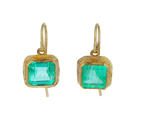 Lovely Emerald Drop Earrings