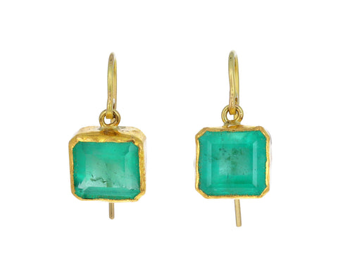Lovely Light Emerald Drop Earrings