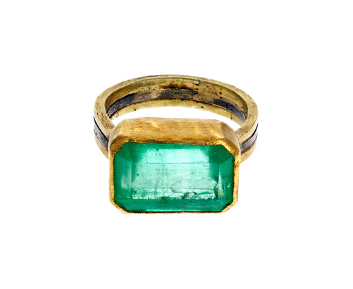 Rectangular Emerald Ring