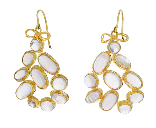 Excessive Ceylon Moonstone Earrings