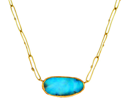 Lovely Bright Opal Echo Necklace