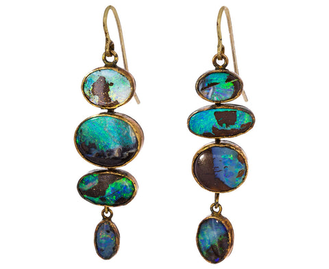 Quadruple Opal Earrings - TWISTonline