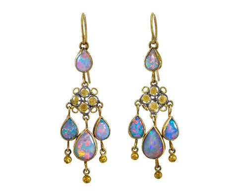 Opal Chandelier Earrings - TWISTonline