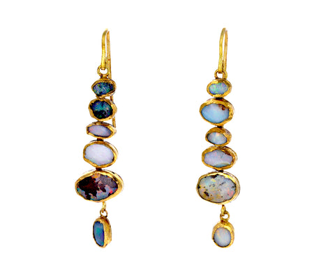 Opal Cascade Earrings