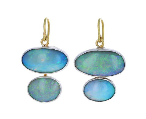 Lovely Sparkly Opal Earrings