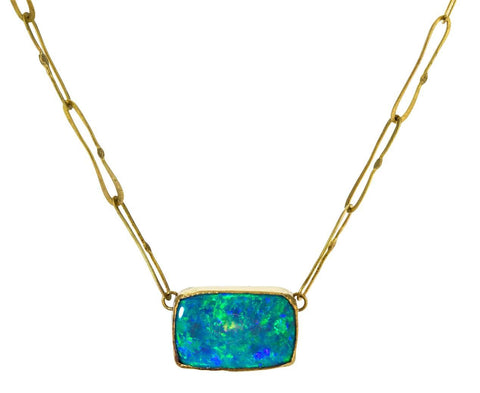 Boulder Opal Echo Necklace - TWISTonline
