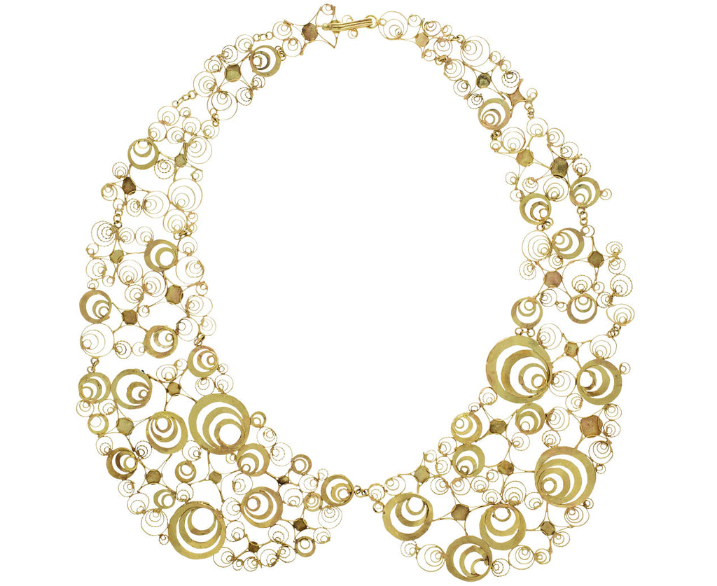 Black Hole Peter Pan Collar Necklace - TWISTonline