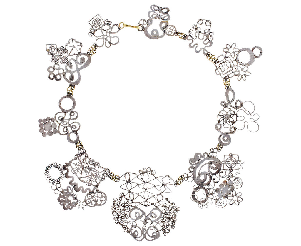 Silver Studio Sweep Necklace II - TWISTonline