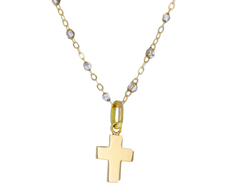 Gold Cross Pendant ONLY