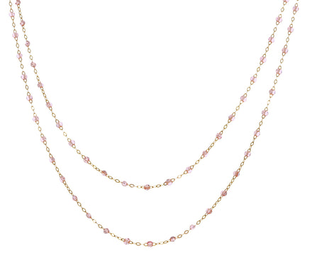 Long Super Sparkle Beaded Necklace