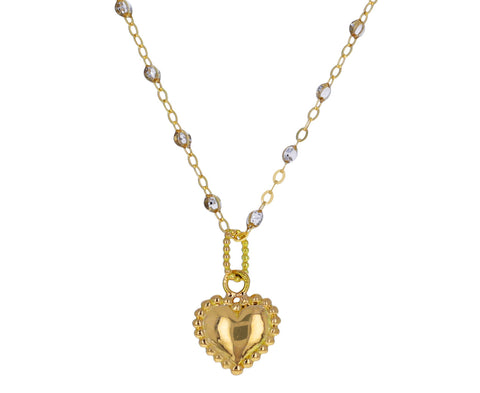 Gold Heart Pendant ONLY