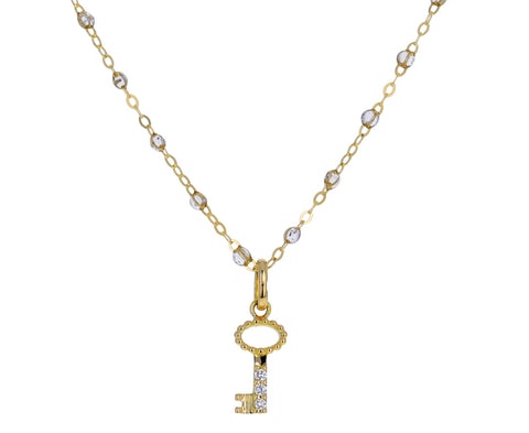 Diamond Key Pendant ONLY