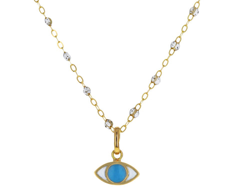 Turquoise Evil Eye Charm Pendant ONLY