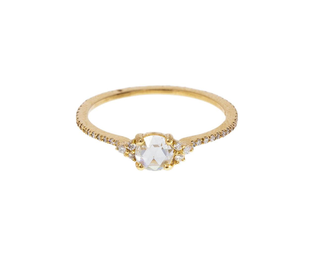 Yellow Gold Diamond Deliah Solitaire - TWISTonline