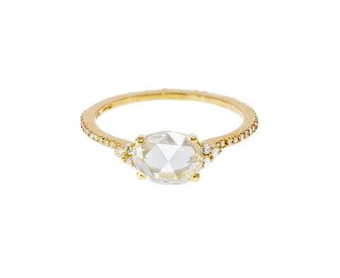 Victoria Rose Cut Diamond Solitaire - TWISTonline