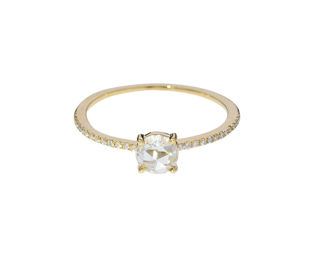 Charlotte White Diamond Solitaire