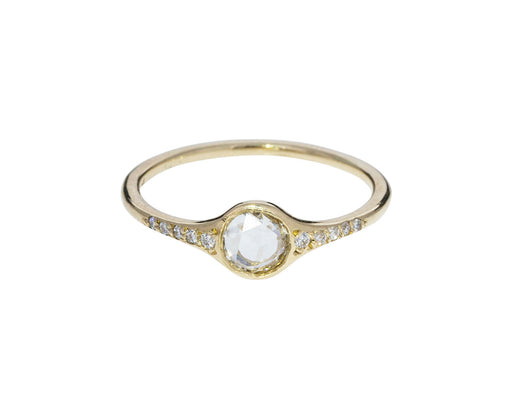 Rose Cut Florence Diamond Solitaire