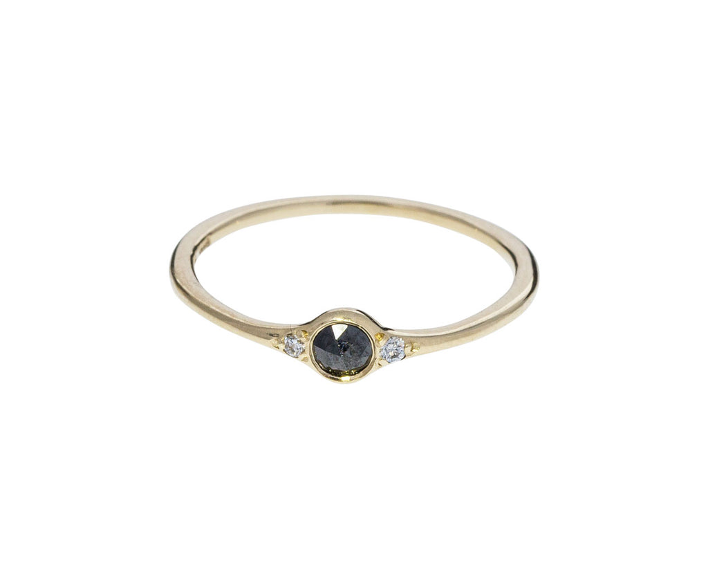 Florence Little Black Diamond Ring