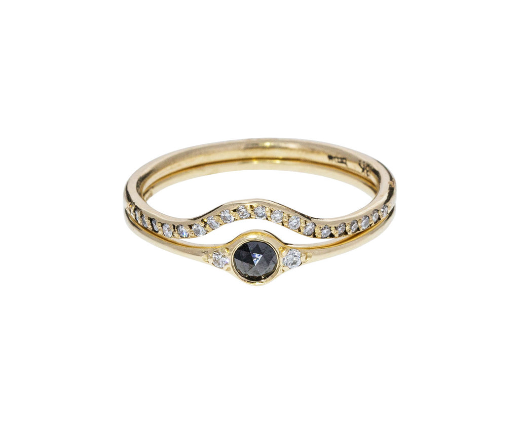 Florence Little Black Diamond Ring - TWISTonline
