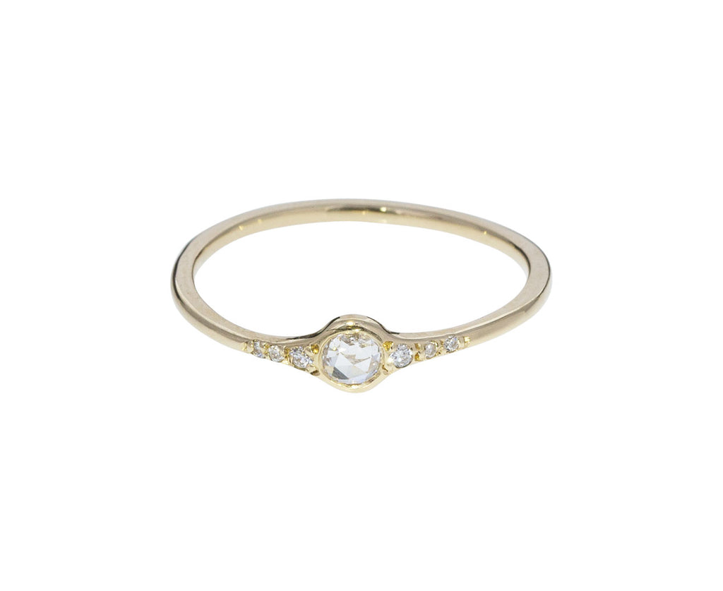 Florence Little White Diamond Ring