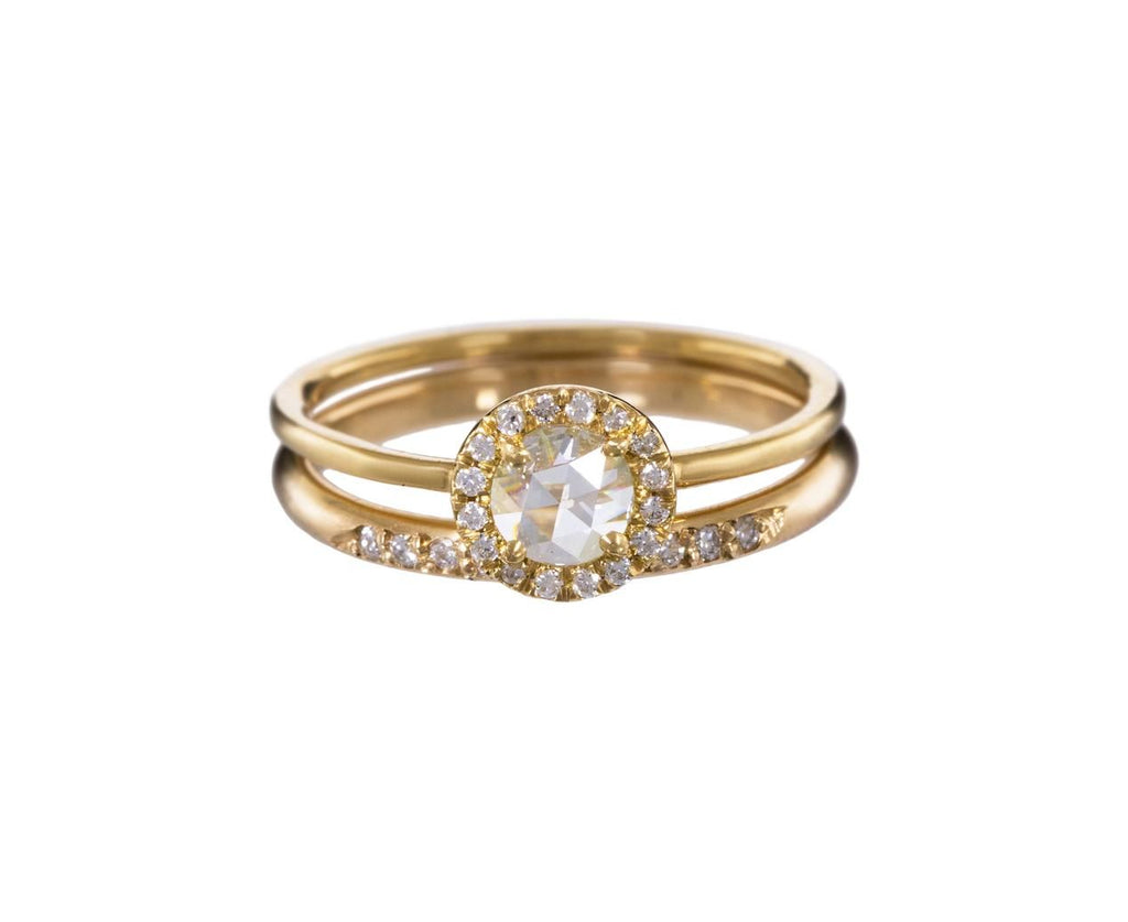 Half Round Diamond Band - TWISTonline