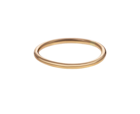 Slim Round Gold Band - TWISTonline
