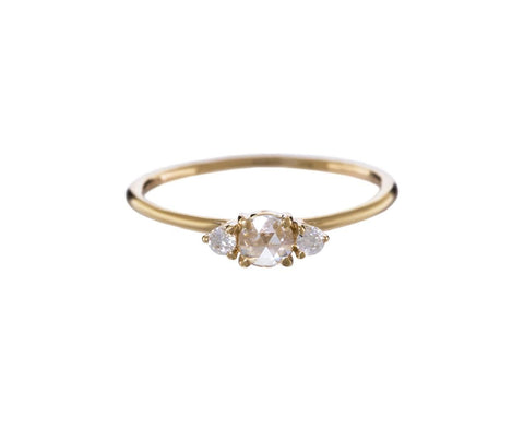 Diamond Three Stone Solitaire - TWISTonline