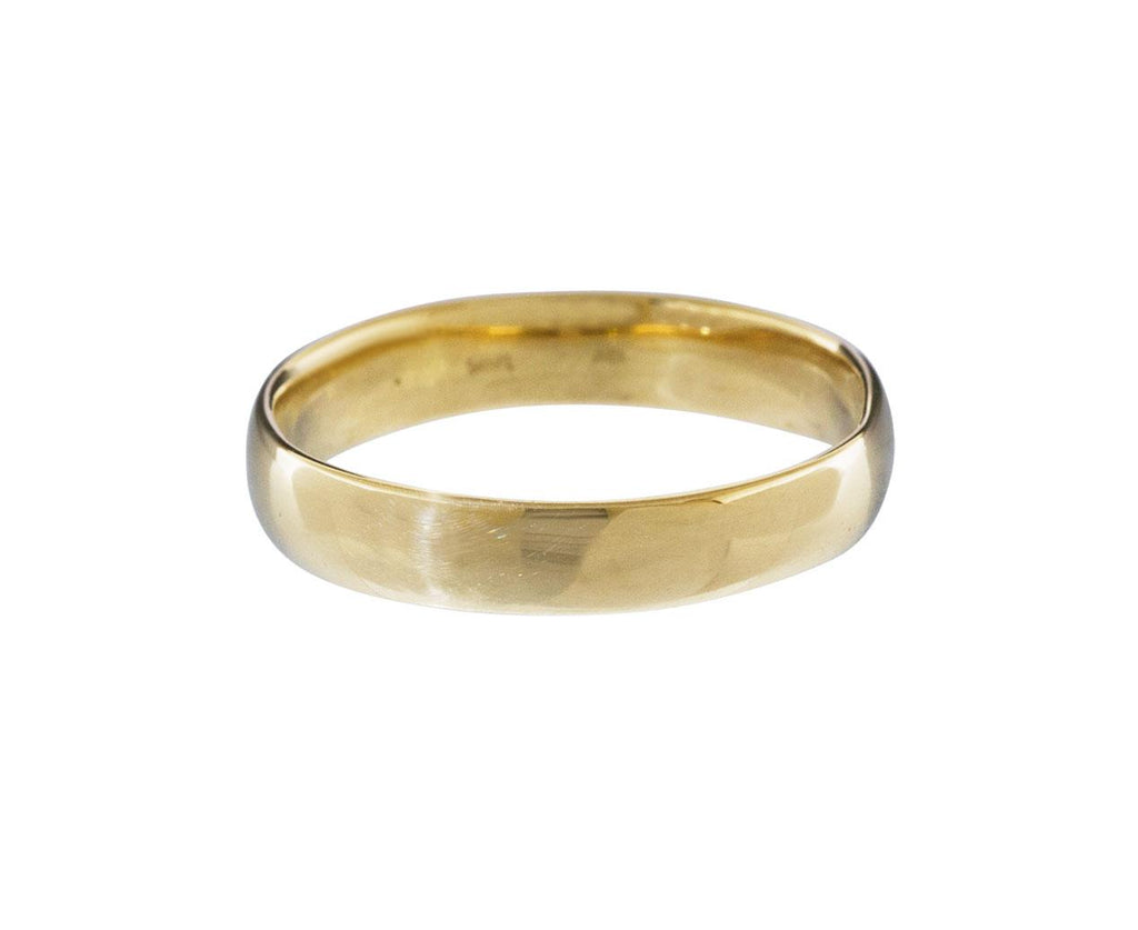 Gold Half Round Men's Band - TWISTonline