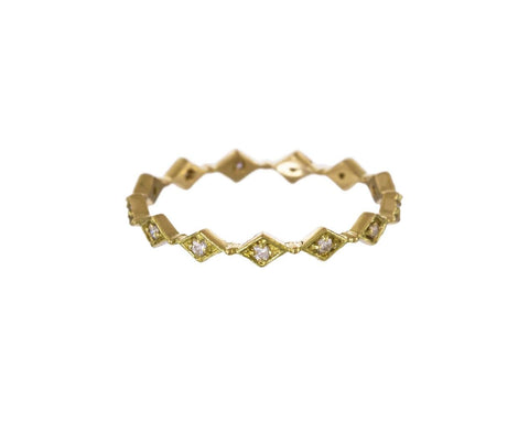Diamond Filagree Eternity Band - TWISTonline