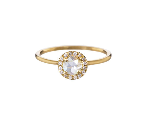 Yellow Gold Aura Diamond Solitarie - TWISTonline