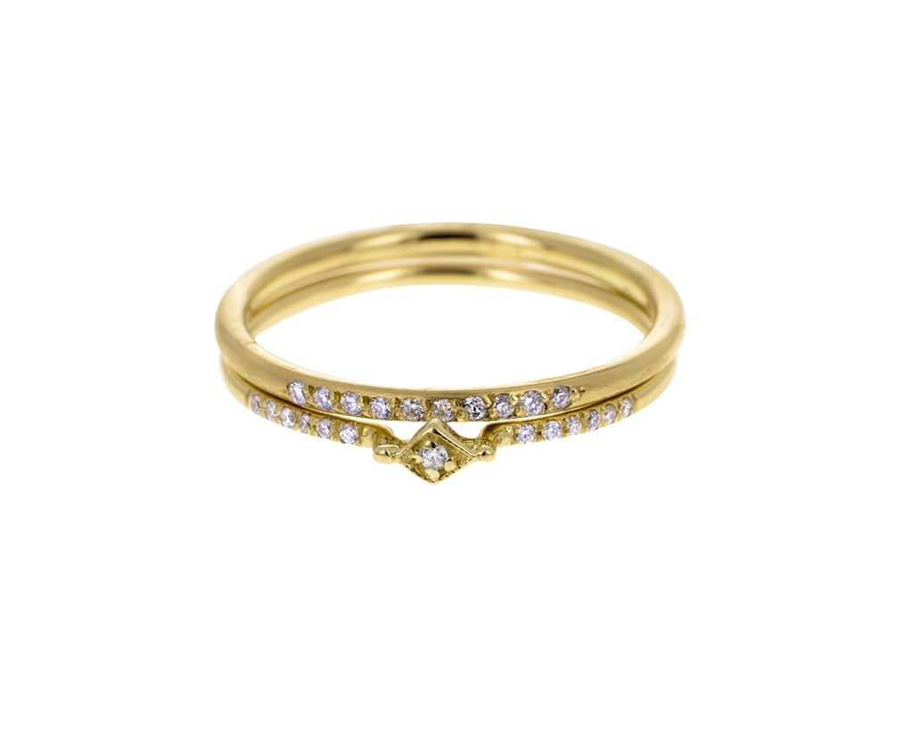 Diamond Tiny Filigree Ring