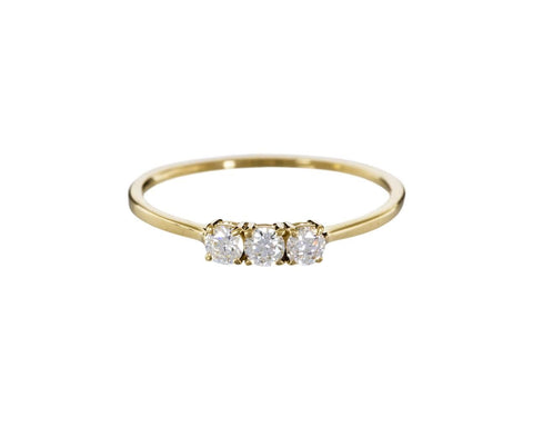 Triple Diamond Ring - TWISTonline