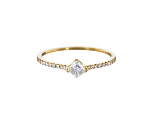 Asscher Cut Diamond Solitaire - TWISTonline