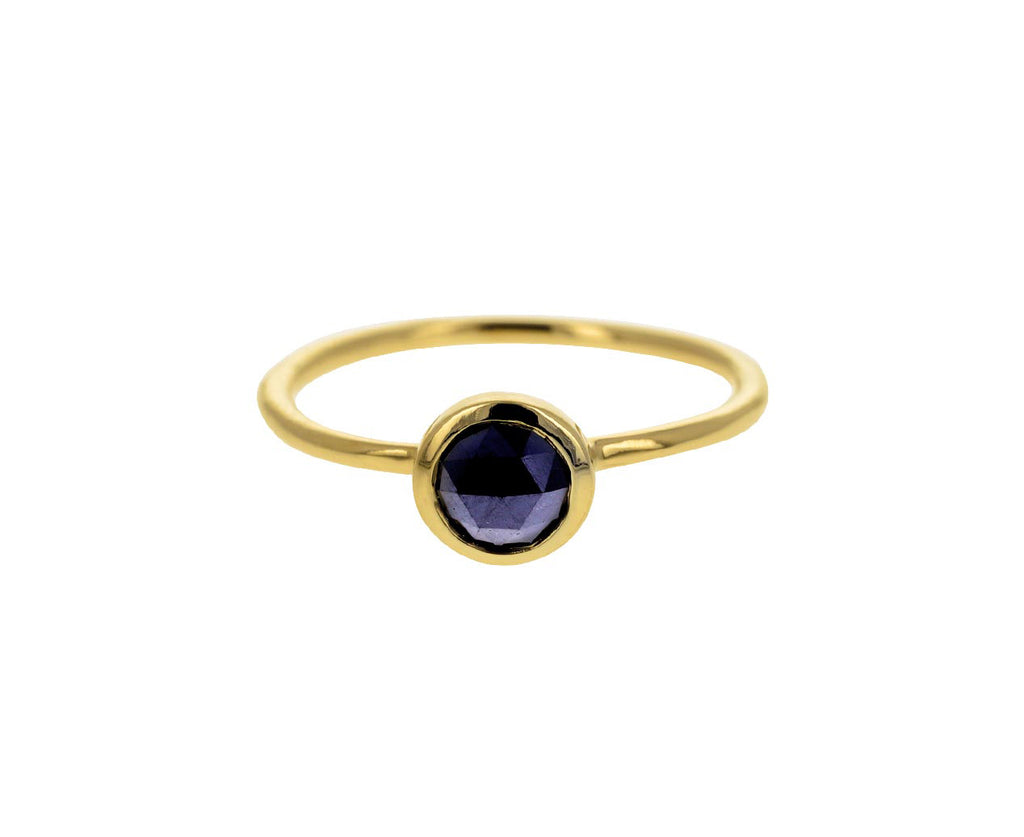 Black Diamond Colette Solitaire Ring