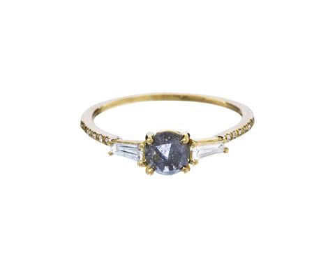 Black and White Diamond Dorian Ring - TWISTonline