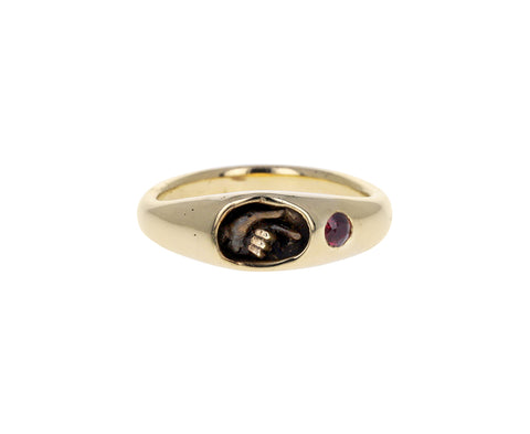 Ruby Wayfarer Ring