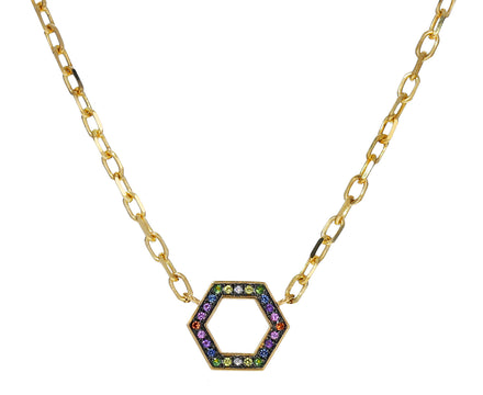 Rainbow Sapphire Foundation Necklace - TWISTonline