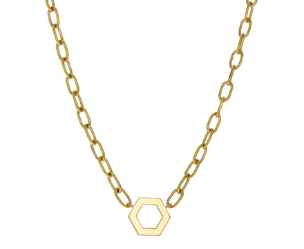 Thick Gold Foundation Necklace