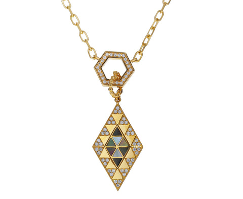 Diamond and Mother-of-Pearl Amina Pendant ONLY - TWISTonline