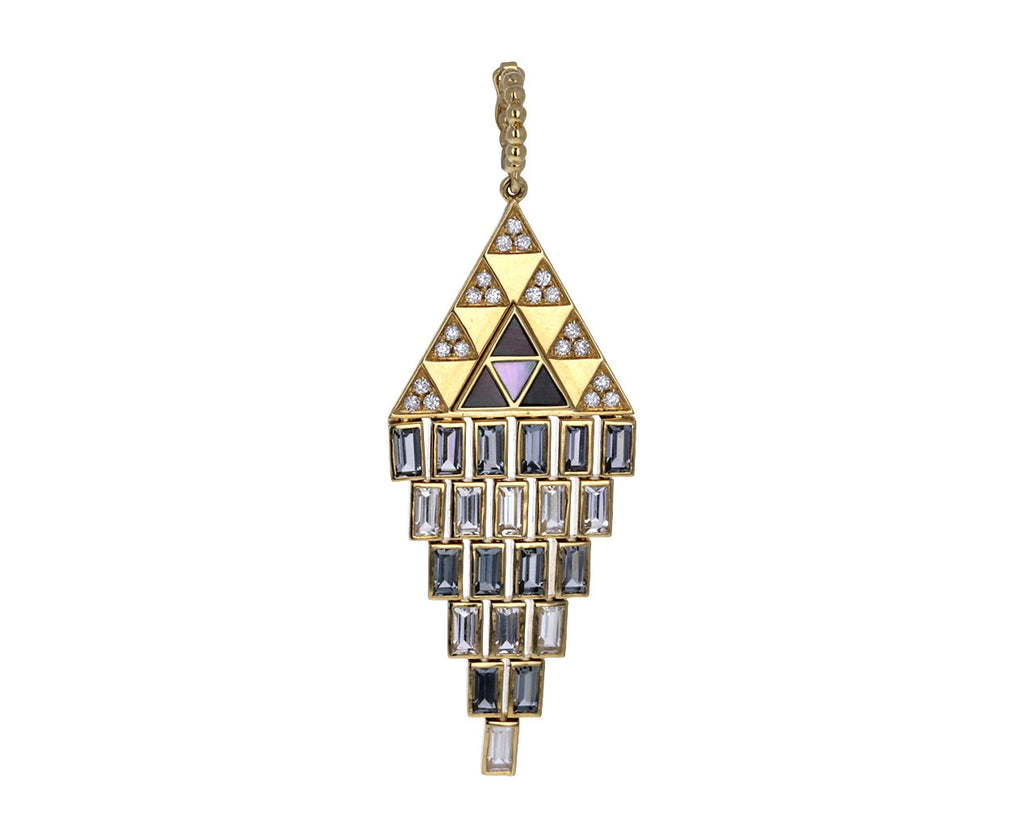 Harrell Godfrey Spinel and Diamond Amina Chandelier Pendant ONLY