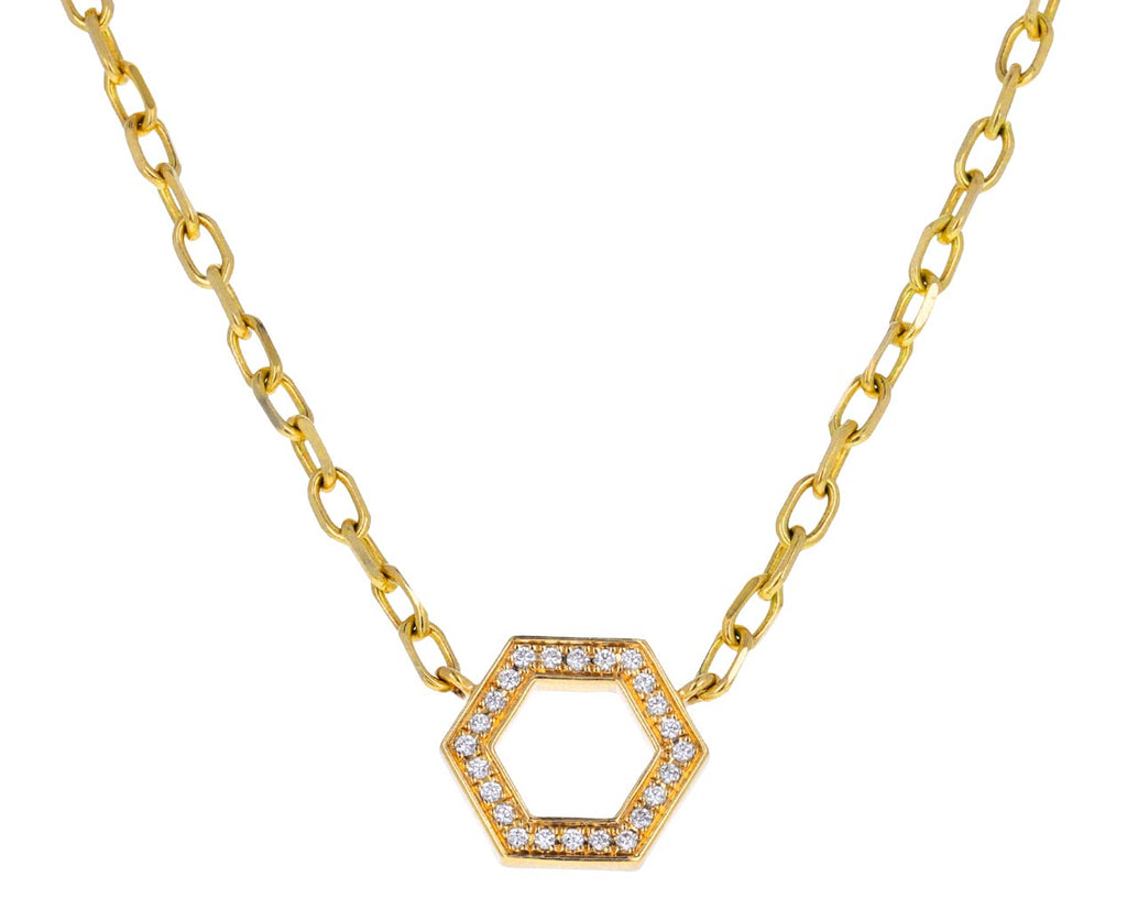 Long Diamond Foundation Necklace