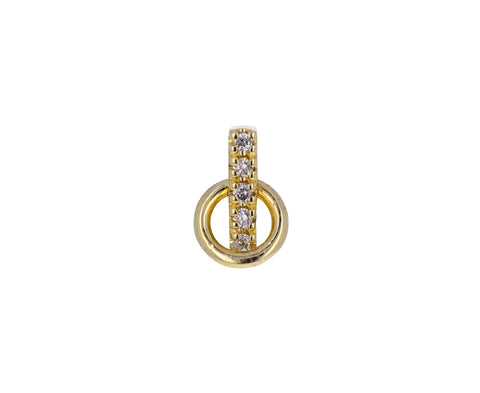 Small Diamond Deco SINGLE Earring