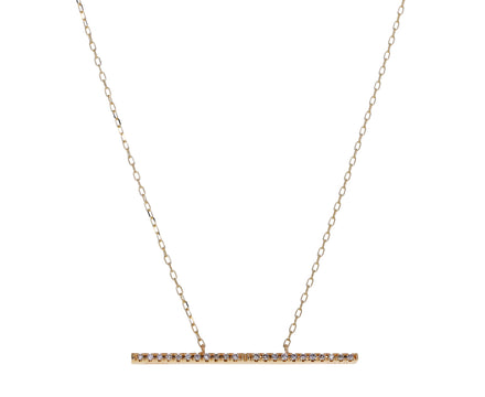 Large Diamond Trapeze Necklace