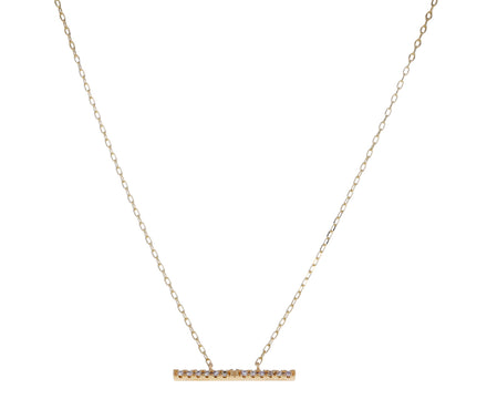 Medium Diamond Trapeze Necklace