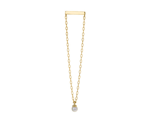 Akoya Pearl Chain SINGLE Earring