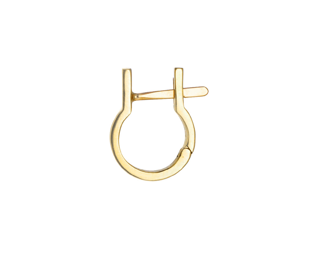 Gold Industria Mini SINGLE Earring
