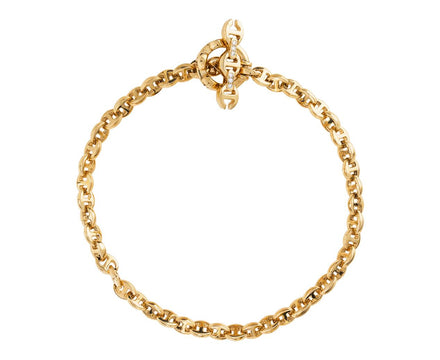 Open Link Diamond Toggle Bracelet - TWISTonline